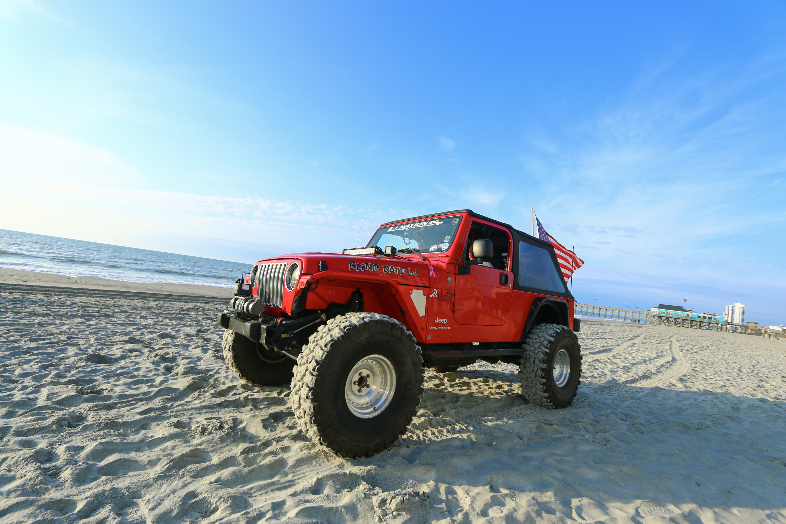 Good Times Await at the Fourth Annual Myrtle Beach Jeep Jam