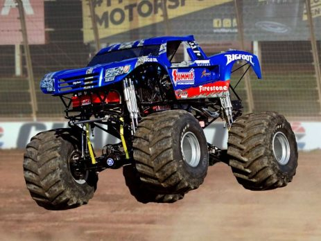Experience Car-crunching Action At The Monster Truck-beach Devastation Show