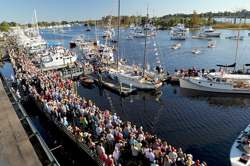 Set Sail for the 29th Annual Wooden Boat Show in October